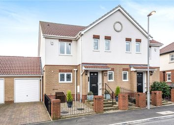 Thumbnail 3 bed semi-detached house for sale in Gentian Way, Weymouth, Dorset