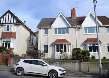 Thumbnail 3 bed terraced house for sale in Eversley Road, Sketty, Swansea