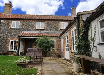 Thumbnail 3 bed cottage for sale in Cross Lane, Northwold