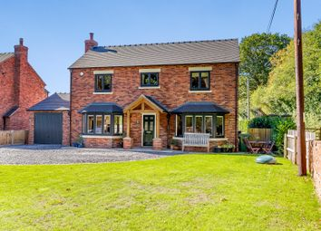 Thumbnail 4 bed detached house for sale in The Sidings, Frogmore Road, Market Drayton