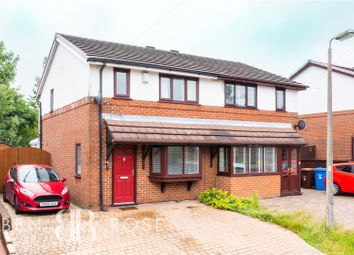 Thumbnail 3 bed semi-detached house for sale in Cross Swords Close, Chorley