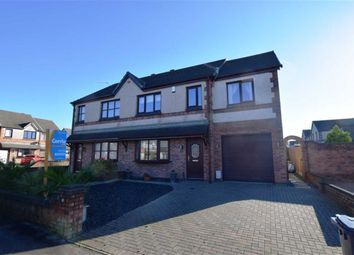 Thumbnail 4 bed semi-detached house for sale in Caspian Road, Askam-In-Furness, Cumbria