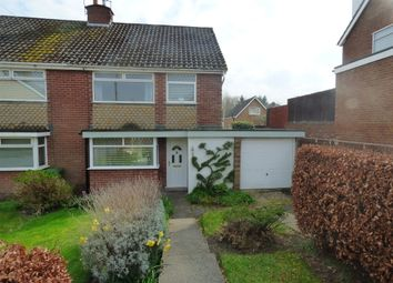 Thumbnail 3 bed semi-detached house for sale in Derwent Road, Bebington, Wirral