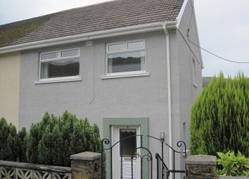 Thumbnail 3 bed semi-detached house to rent in Tanygarth, Abercrave, Swansea