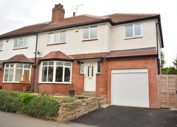 Thumbnail 4 bedroom semi-detached house for sale in Roman Gardens, Roundhay, Leeds