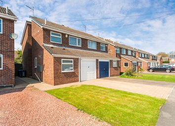Thumbnail 3 bed semi-detached house for sale in Katrine Close, Sutton-On-Hull, Hull