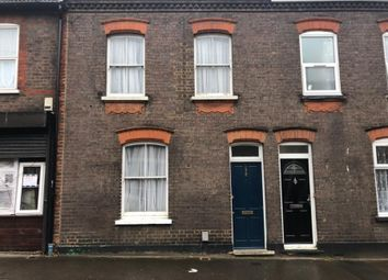 Thumbnail 3 bed terraced house to rent in Kingston Road, Luton