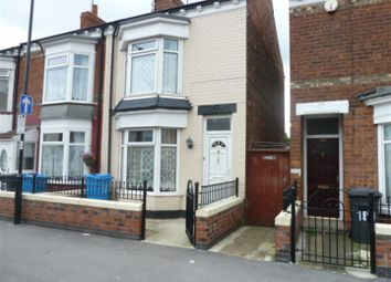 Thumbnail 2 bedroom end terrace house to rent in De La Pole Avenue, Hull