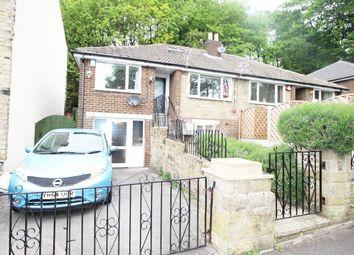 Thumbnail 4 bed semi-detached bungalow for sale in Brakcen Road, Brighouse, West Yorkshire