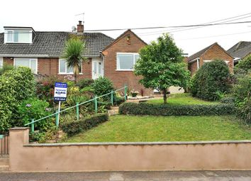Thumbnail 3 bed semi-detached bungalow for sale in Branscombe Road, Tiverton