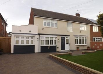 Thumbnail 5 bedroom semi-detached house for sale in Cauldwell Villas, South Shields, Tyne And Wear, Tyne And Wear