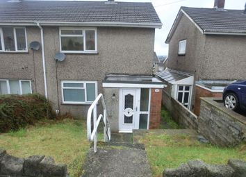 Thumbnail 2 bed semi-detached house for sale in Caernarvon Way, Bonymaen, Swansea