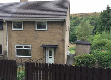 Thumbnail 2 bed semi-detached house for sale in Highfield Road Luddenden, Halifax, Halifax