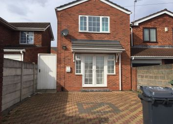 Thumbnail 2 bed detached house to rent in Hillary Street, Walsall, West Midlands