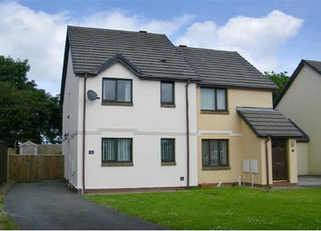 Thumbnail 2 bed semi-detached house for sale in Honeyborough Grove, Milford Haven, Neyland