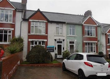 Thumbnail 4 bed terraced house for sale in Penlan Crescent, Swansea