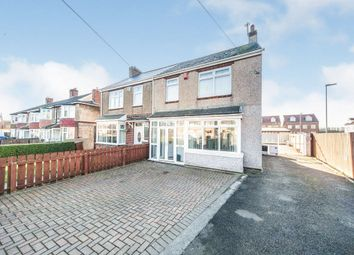 Thumbnail 4 bed semi-detached house for sale in Seaton Lane, Hartlepool