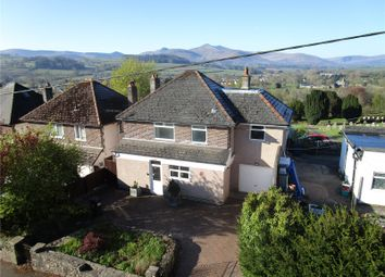 Thumbnail 4 bed detached house for sale in Cradoc Road, Brecon, Powys