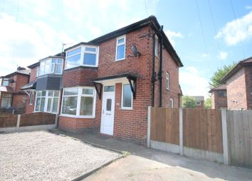 Thumbnail 3 bedroom semi-detached house for sale in Edison Road, Eccles, Manchester