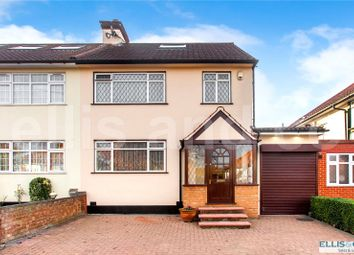 Thumbnail 4 bedroom semi-detached house for sale in Ellesmere Avenue, Mill Hill, London