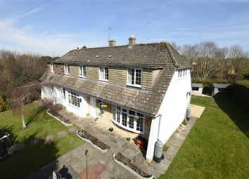 Thumbnail 5 bedroom detached house for sale in Bakers Road, Wroughton, Swindon