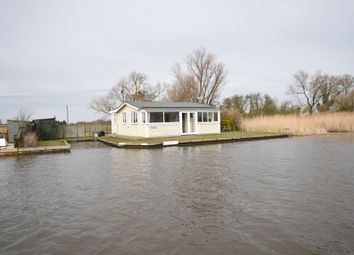 Thumbnail 3 bed detached bungalow for sale in North East Riverbank, Potter Heigham