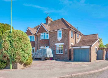 Thumbnail 3 bed semi-detached house for sale in Burch Grove, Walberton, Arundel