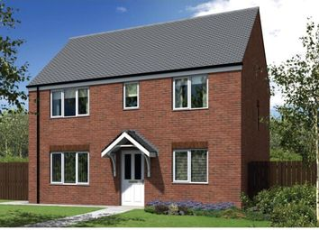 "Thumbnail 4 bedroom detached house for sale in ""The Cherryburn"" at Canal Way, Ellesmere"