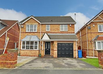 Thumbnail 4 bed detached house for sale in Cleeve Road, Hedon, Hull