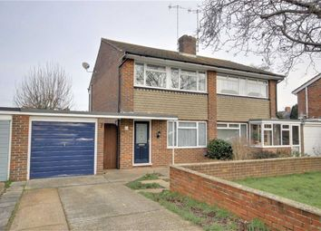 Thumbnail Semi-detached house for sale in Birkdale Road, Worthing, West Sussex
