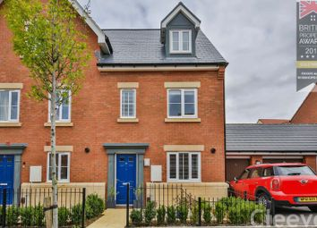 Thumbnail 3 bed end terrace house for sale in Wagtail Grove, Bishops Cleeve, Cheltenham