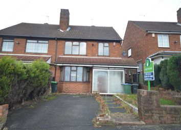 Thumbnail 3 bed semi-detached house for sale in Cornfield Road, Rowley Regis