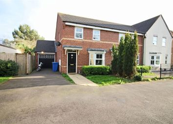 Thumbnail 3 bed end terrace house for sale in Field Close, Kettlebrook, Tamworth, Staffordshire