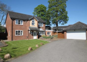 Thumbnail 4 bed detached house for sale in Park Issa Gardens, Whittington, Oswestry