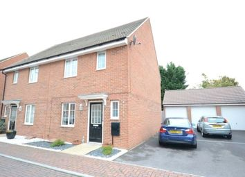 Thumbnail 3 bedroom semi-detached house for sale in School Drive, Woodley, Reading