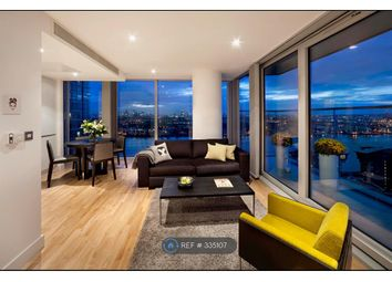 Thumbnail 2 bed flat to rent in Landmark East Tower, London