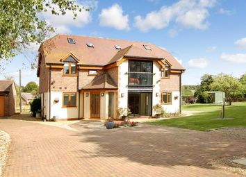 Thumbnail 5 bed detached house for sale in Upper Lambourn, Hungerford