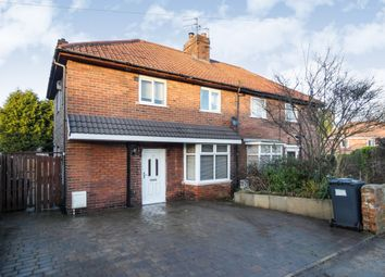 Thumbnail 3 bed semi-detached house for sale in Broomhouse Lane, Edlington, Doncaster