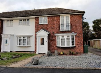 Thumbnail 3 bed town house for sale in Wolsey Way, Syston