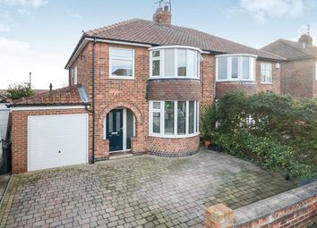 Thumbnail 3 bed semi-detached house to rent in Thirkleby Way, York