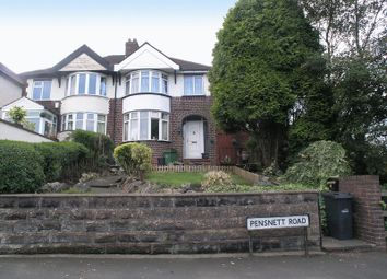 Thumbnail 3 bed semi-detached house for sale in Dudley, Holly Hall, Pensnett Road