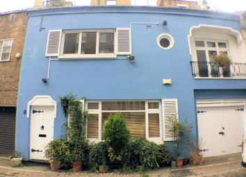 Thumbnail 3 bed mews house to rent in Montagu Mews West, London