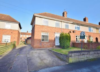 Thumbnail 3 bed end terrace house for sale in Harlow Street, Blidworth, Mansfield