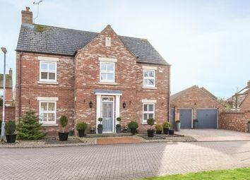 Thumbnail 5 bedroom detached house for sale in Manor Garth, Fridaythorpe, Driffield