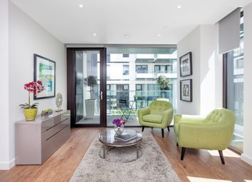 Thumbnail 2 bedroom flat for sale in The Waterman Block, Barge Walk, Greenwich