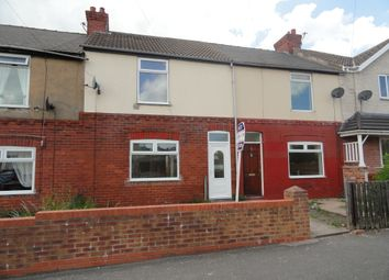 Thumbnail 2 bed terraced house to rent in Avenue Road, Askern, Doncaster