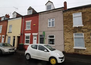 Thumbnail 4 bed terraced house for sale in Occupation Road, Hucknall, Nottingham