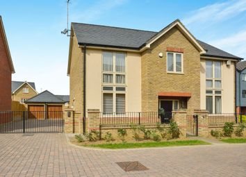 Thumbnail 4 bed detached house for sale in Norden Mead, Walton, Milton Keynes