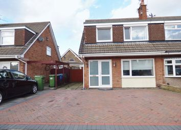 Thumbnail 3 bed semi-detached house for sale in Kirkcaldy Avenue, Great Sankey, Warrington