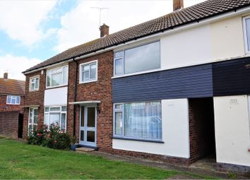 Thumbnail 3 bed terraced house for sale in Swalecliffe Court Drive, Whitstable